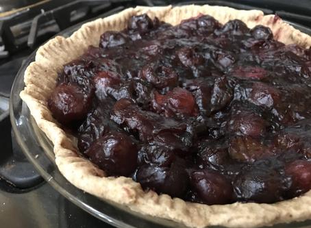 WFPB Cherry Pie