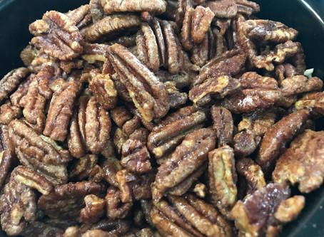 Spicy Sweet Pecans