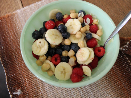 chickpea fruit salad