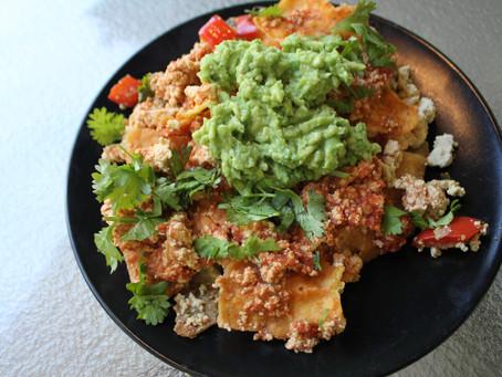 Veggie Tofu Chilaquiles