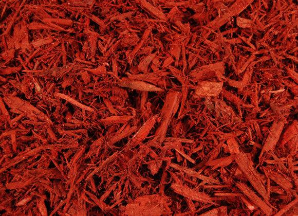 Bursting Red Mulch
