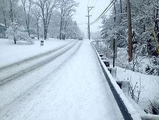 Snow on PA roads