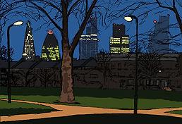 Rory Brooke, London Fields Sentinels Sketch