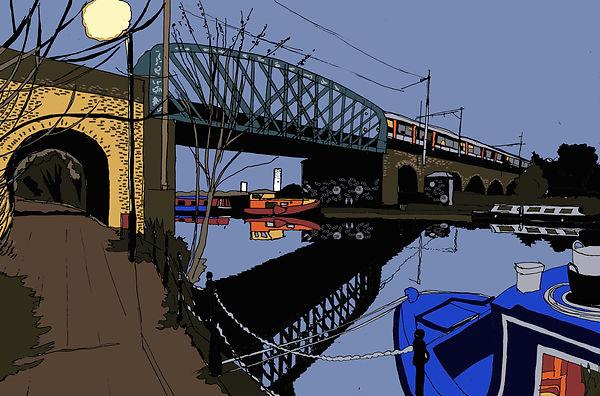 Rory Brooke Walthamstow Marshes Bridge S