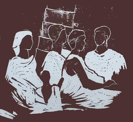 Rory Brooke, African Women Linocut.jpg