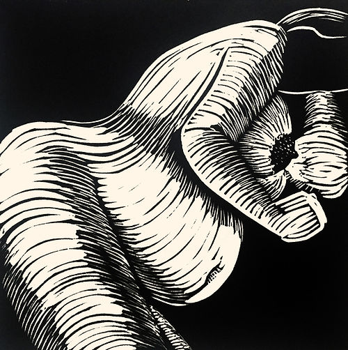 Rory Brooke, Pregnancy Linocut