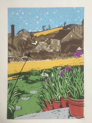 Rory Brooke Chideock Garden 5th print.JP