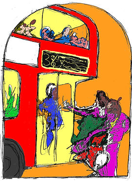 Rory Brooke, Bus Stop Assumption Sketch