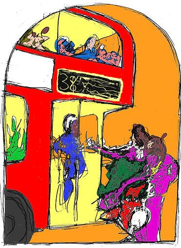 Rory Brooke, Bus Stop Assumption Sketch