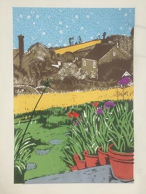 Rory Brooke Chideock Garden 6th print.JP