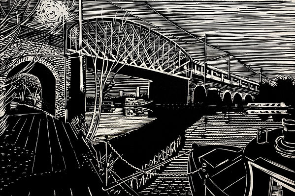 Rory Brooke Walthamstow Marshes Bridge L