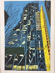 Rory Brooke Leadenhall Tower Screenprint