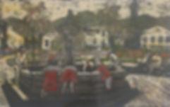 Rory Brooke, Plaza de Independencia Screenprint