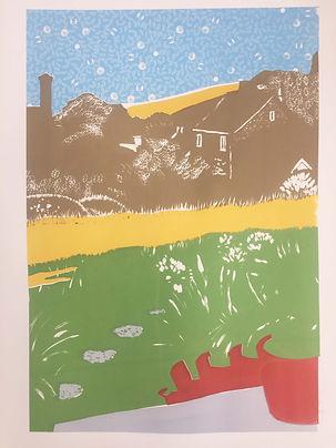 Rory Brooke Chideock Garden 3rd print.jp