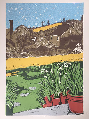 Rory Brooke Chideock Garden 4th print.jp