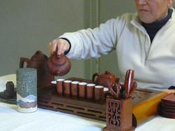 Initiation à la cérémonie du thé