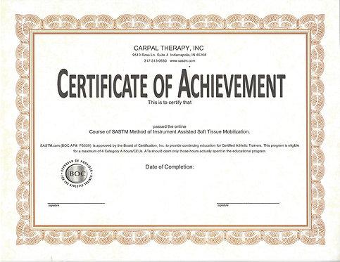 Individual Online Certification