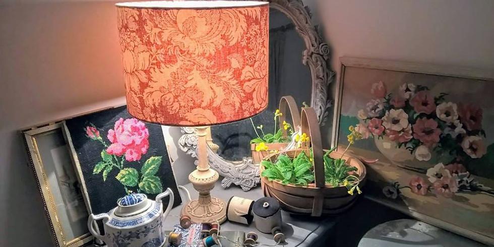 Drum lampshade workshop (2)