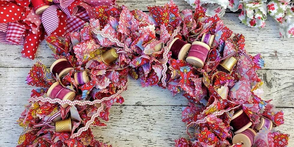 Fabric Wreath Workshop  (1)