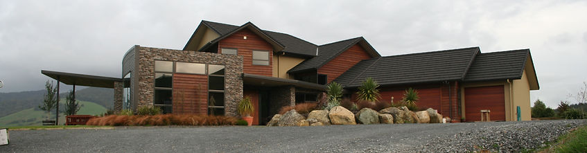 Designer residence at Luck at Last Road.