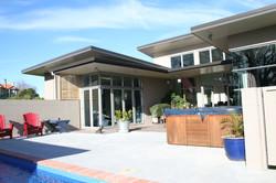 Boulton Residence POOLSIDE