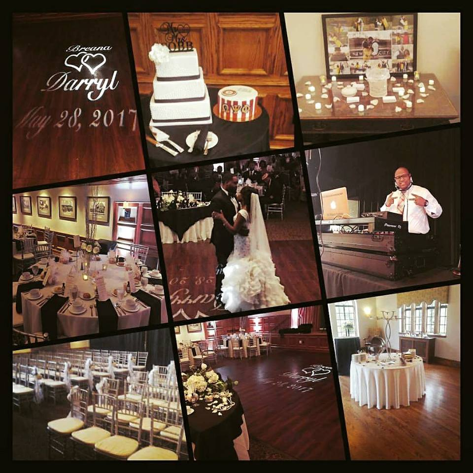 We can do Wedding and Receptions