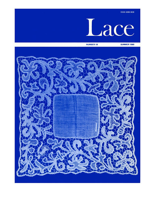 Lace issue 19 - July 1980