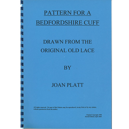 Pattern For A Bedfordshire Cuff by Joan Platt