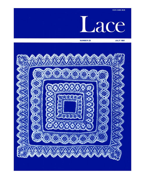 Lace issue 23 - July 1981
