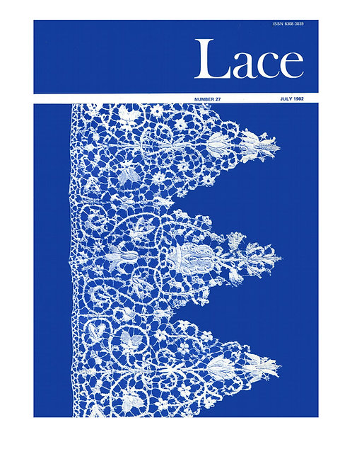 Lace issue 27 - July 1982