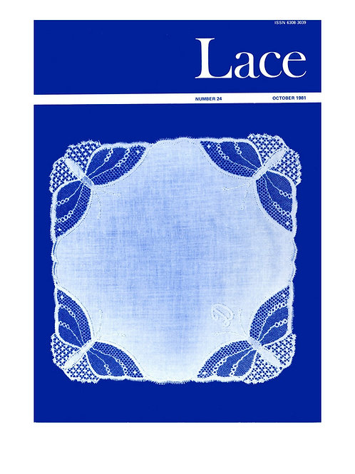 Lace issue 24 - October 1981