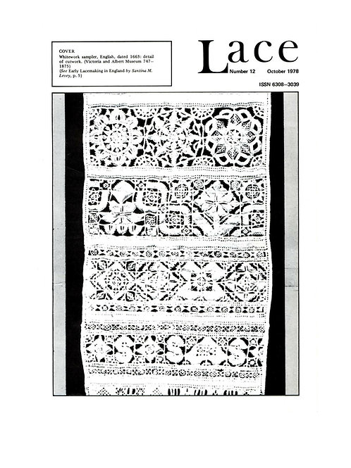 Lace issue 12 - October 1978