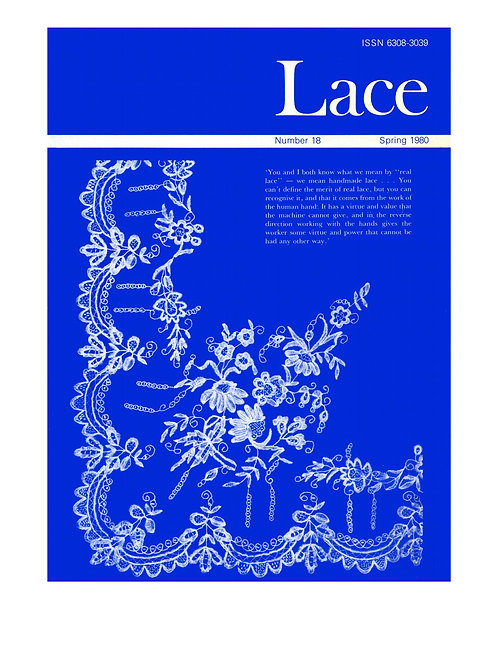 Lace issue 18 - April 1980