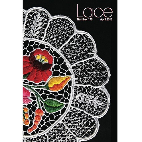 Lace Magazine - issue 170 Spring (April) 2018