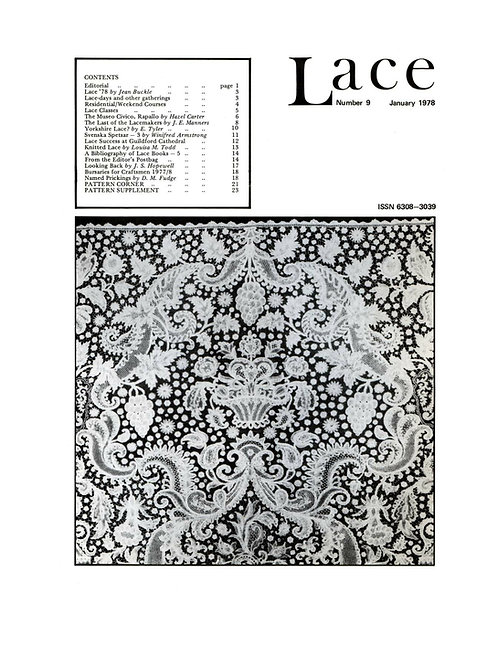 Lace issue 9 - January 1978