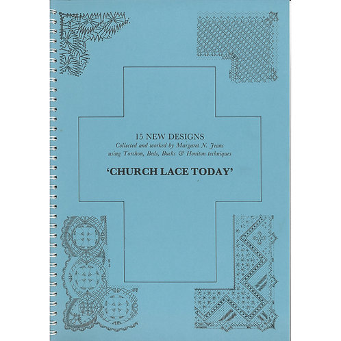Church Lace Today by Margaret N. Jeans