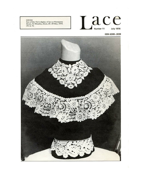 Lace issue 11 - July 1978