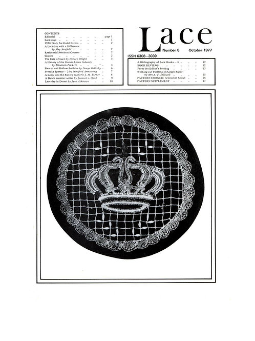 Lace issue 8 - October 1977