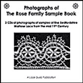Photographs of the Rose Family Sample Book