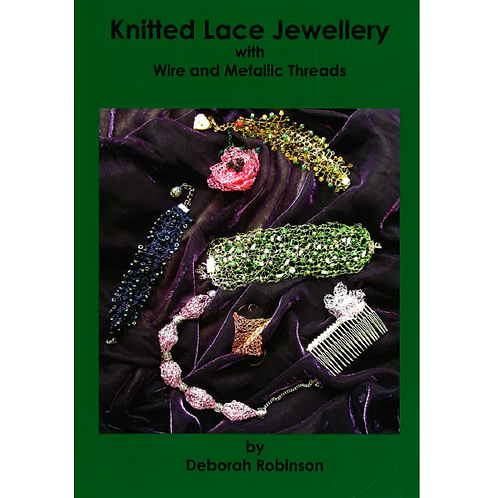 Knitted Lace Jewellery by Deborah Robinson