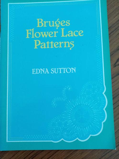 Bruges Flower Lace Patterns by Edna Sutton