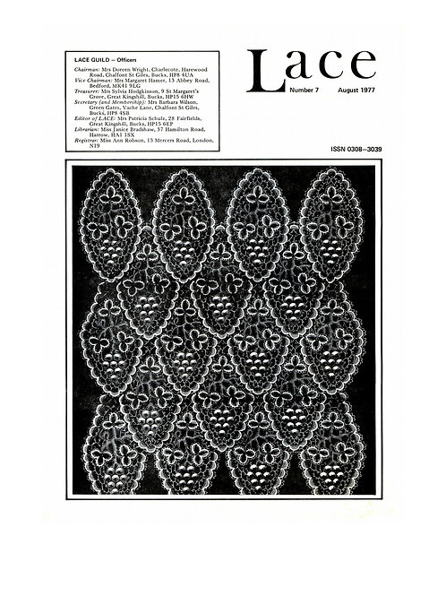 Lace issue 7 - July 1977