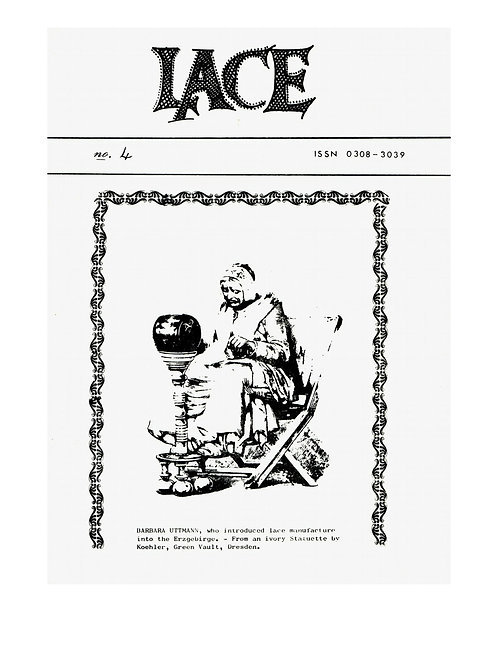 Lace issue 4 - October 1976