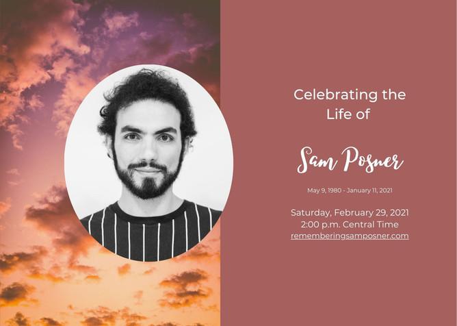 Celebrating Sam Posner