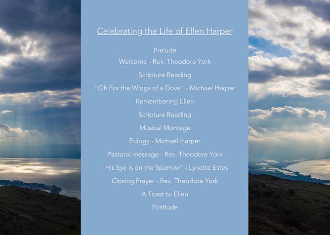 Celebrating Ellen Harper