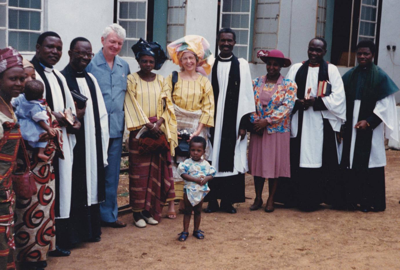1987 Revisiting church in Ilorin Nigeria