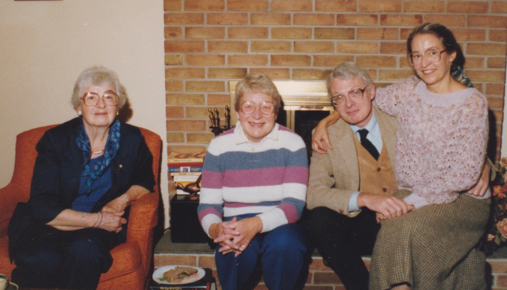 1978-ish Edna and Eleanor in Harrisburg.