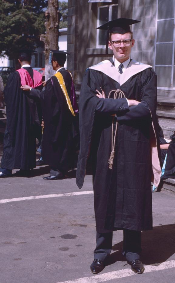 1965 Graduation day at Haile Sellasie U.