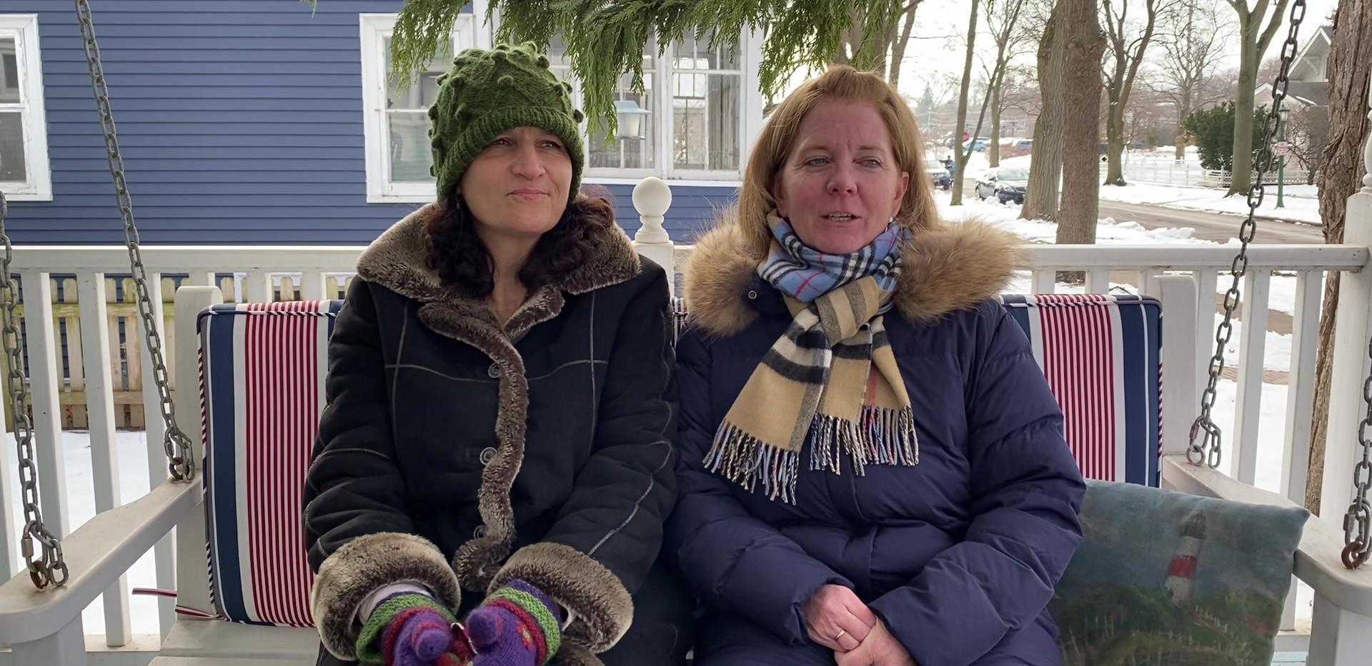 Kate Regnier and Linda Stepanich - IMG_2