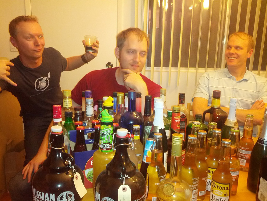 16 Jonas Ross Greg table of booze.jpg